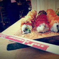 Sushi Jin Next Door rolls
